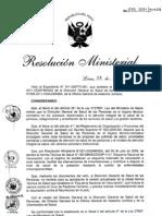 Copia de Norma Tecnica de Salud Que Establece El Esquema Nacional de Vacunacion 28012011