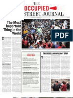 The Occupied Wall Street Journal, Issue 2