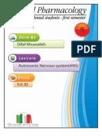 Lecture 5, Autonomic Nervous system (Script)