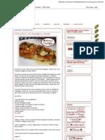 Aromas e Sabores- Peixe de Forno Com Champignon e Tomates