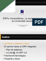 ERPs Universitarios
