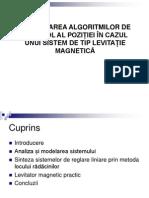 Levitatie Magnetica (Ultima Varianta)