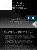 Struktur Dan Peranan Ilmu
