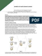 Multi Channel Content Management 10