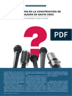 Los desafíos en la construcción de liderazgos (Manfredo R. Bravo)