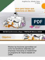 SPI08 - Secretos Para CMMI en Mexico