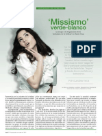 Missismo verde-blanco (Claudia Vaca)