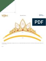Rapunzel Tangled Crown Printable 0511