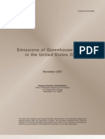 Emissions of Greenhouse Gases in US 2006