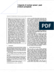 Environmental impacts of nuclear power past and future prospects