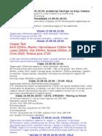 Skripta Dnevnik treninga ST 2006