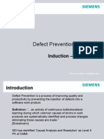 Defect Prevention Training