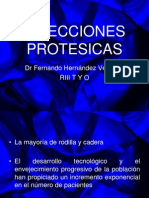 INFECCIONES PROTESICAS