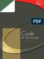 Code de Déontologie de l'expert-comptable