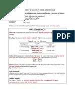 Lab Report Marking Scheme KMEM2172