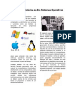 Evolución histórica de los sistemas operativos - ARTICULO