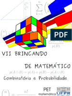 Combinatória e Probabilidade