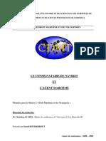 Consignataire Et Agent Maritime (Droit)