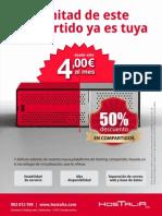 2011 Hostalia 50% Descuento en dos (Anuncio)