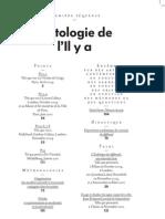 esthétique des différends, première publication