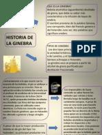 HISTORIA DE LA GINEBRA