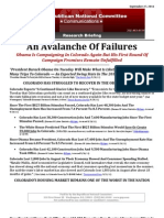 An Avalanche Of Failures