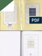 A Forma Das Letras
