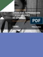 Análisis crítico Encuesta sexualidad, reproducción y desigualdades de género