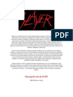 Slayer Historia
