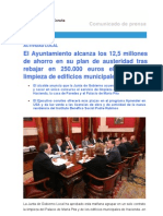 10-10-11 Actividad Municipal_junta de Gobierno Local