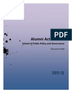 Alumni Action Plan