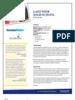 Lake Weir High School (SuccessMaker and WriteToLearn)