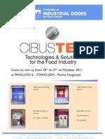Cibus Tec Fast Action Doors  for food processing applications