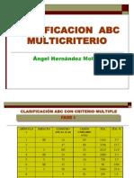 Clase ABC Multicriterio