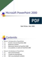 Curso Sobre Power Point 2000
