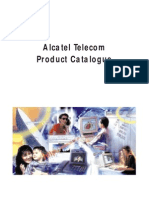 Alcatel Telecom Product Catalogue 1998