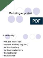 Marketing Appraisal