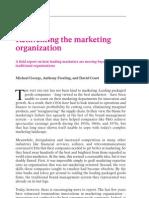 Reinventing the marketing organisation