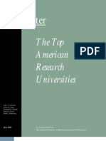 Top American Research Universities