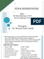 SKIZOFRENIA HERBEFRENIK PP