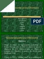 Gerenciamento Pelas Diretrizes II 2007