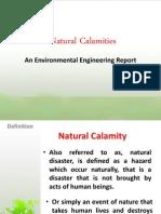 Natural Calamities (Group 8)