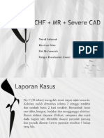 Chf + Mr + Severe Cad