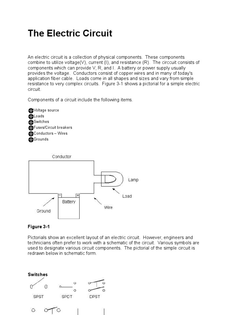 The Electric Circuit Leo2 Fuse Electrical Battery Electricity Hid Electronic Ballast Diagram Basiccircuit