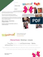 Folhetos Workshop 2010
