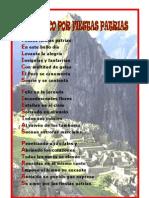ACRÓSTICO POR FIESTAS PATRIAS