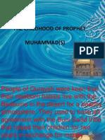 Muhammad Prophet,s Childhood