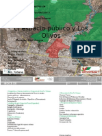 El espacio público y Los Olivos