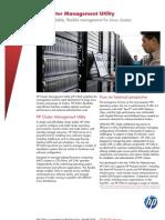 Brochure Cluster Management Utility