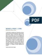 Redes y Pert-cpm